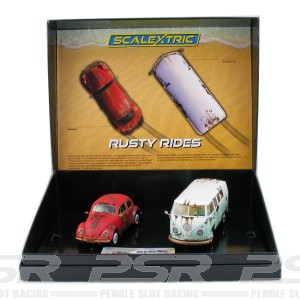 Scalextric Legends VW Beetle & Campervan Limited Edition