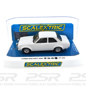Scalextric Ford Escort MK1 White Limited Edition