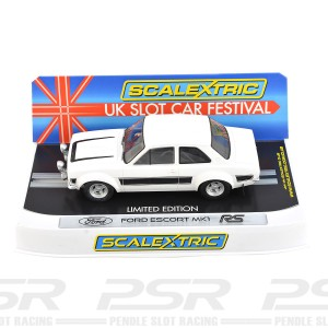 Scalextric Ford Escort Mk1 RS2000 White/Black