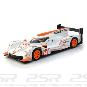Scalextric Ginetta G60-LT-P1 No 14 White/Orange