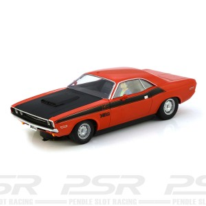 Scalextric Dodge Challenger Red & Black