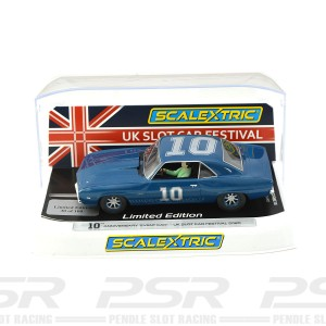 Scalextric Chevrolet Camaro UKSCF 2020 10th Silver
