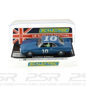 Scalextric Chevrolet Camaro UKSCF 2020 10th Silver