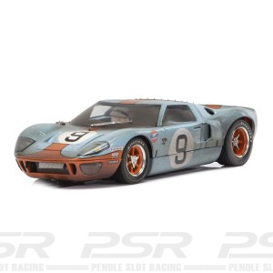 Scalextric Ford GT40 Gulf No.9 Weathered