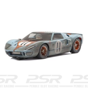 Scalextric Ford GT40 Gulf No.11 Weathered