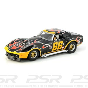 Scalextric Chevrolet Corvette No.66 Flames