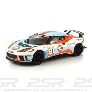 Scalextric Lotus Evora GT4 Gulf Edition
