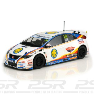 Scalextric Honda Civic Type-R NGTC Jake Hill 2020