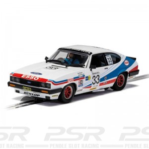 Scalextric Ford Capri MKIII Spa 24 Hours 1981