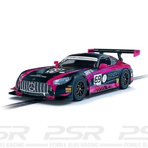Scalextric Mercedes AMG GT3 No.69 British GT 2020