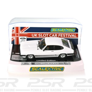 Scalextric Ford Capri MKIII 3.0S UKSCF 2021 Limited Edition