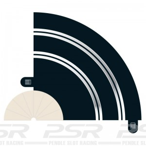 Scalextric Radius 1 Hairpin Curve 90 degree x2 C8201