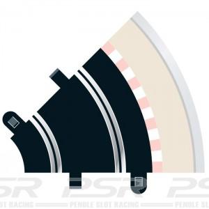 Scalextric Radius 1 Curve 45 degree x2 C8202