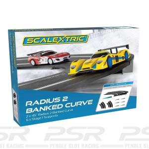 Scalextric Radius 2 Banked Curve