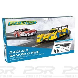 Scalextric Radius 3 Banked Curve