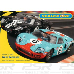 Scalextric Catalogue Edition 43 2002 Update