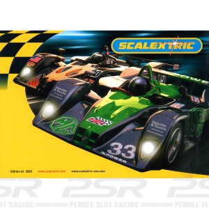 Scalextric Catalogue Edition 44 2003