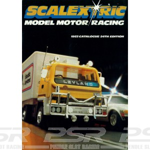 Scalextric Catalogue Edition 24 1983