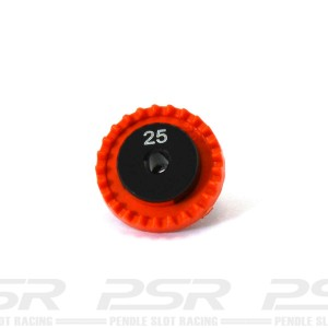 0132 Inline Crown Gear 3/32 25t