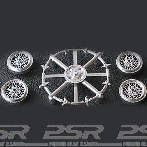 Cartrix Plastic Classic Wheels 32-Spoked Chrome x4 CTX1030