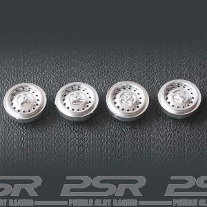 Cartrix Plastic Steel Style Wheels Silver x4 CTX1030B