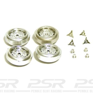 Cartrix Plastic Steel Style Wheels for Porsche x4 CTX1030P