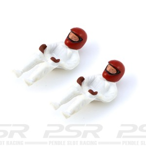 Cartrix Full Body & Helmet Driver Figures