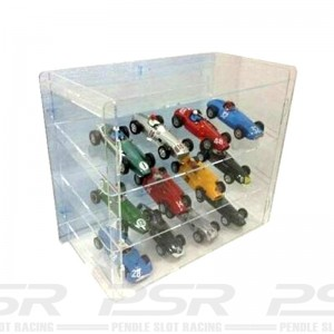 Cartrix Slot Car Display Unit - Transparent
