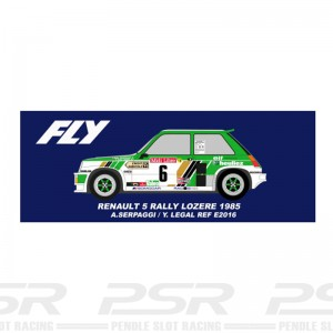 Fly Renault 5 No.5 Rally Lozere 1985