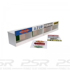 GP Miniatures Reims Pit Boxes