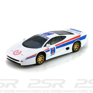 SuperSlot Jaguar XJ220 Hisinsa 50th Anniversary Red Logo