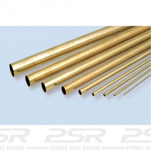 K&S Brass Round Tube 3/16 KS129
