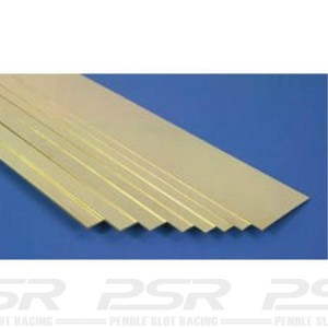 K&S Brass Strip 0.025x1/2 KS236