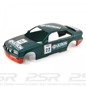 Scalextric BMW 318 No.22 Esso Ultron Green Body