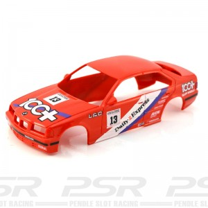Scalextric BMW 318 No.13 100+ Red Body