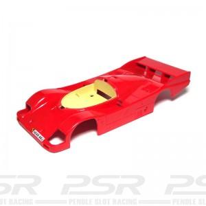 Scalextric Porsche 962 Red Body