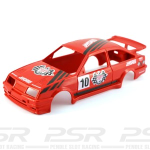 Scalextric Ford Sierra No.10 Janspeed Red Body