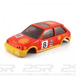 Scalextric Ford Fiesta XR2i No.8 Shell Red Body
