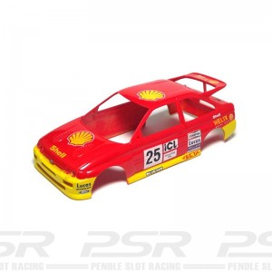 Scalextric Ford Escort Cosworth No.25 Red Body