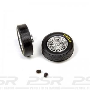 Mitoos Aluminium Classic Wheels & Pirelli Tyres 21.2x6mm