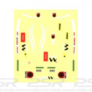 Scalextric Decal Sheet Single Seater No.2
