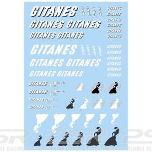 Mitoos Gitanes Decals
