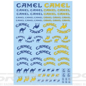 Mitoos Camel Decals