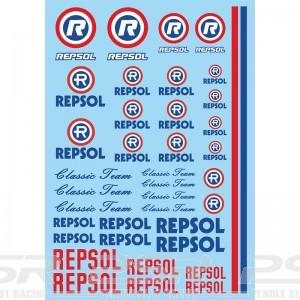 Mitoos Repsol Classic Decals