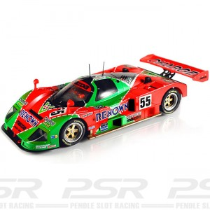 MR Slotcar Mazda 787B No.55 Renown Le Mans 1991 Winner MR1003