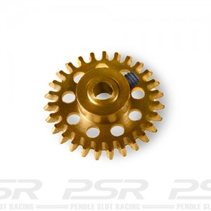 MR Slotcar Anglewinder Gear 24t 14.5mm Gold MR6524