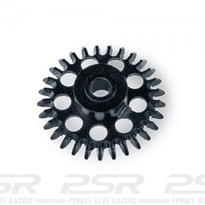 MR Slotcar Anglewinder Gear 28t 15.5mm Black MR6628