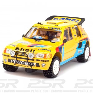 MSC Peugeot 205 T16 Grand Raid Camel Dakar 1987