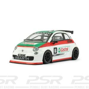 NSR Fiat Abarth 500 No.6 Castrol White