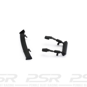NSR Renault Clio Rear Wing & Mirrors